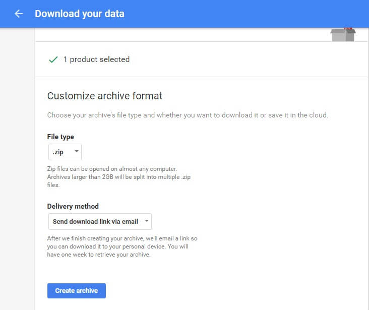 download data product