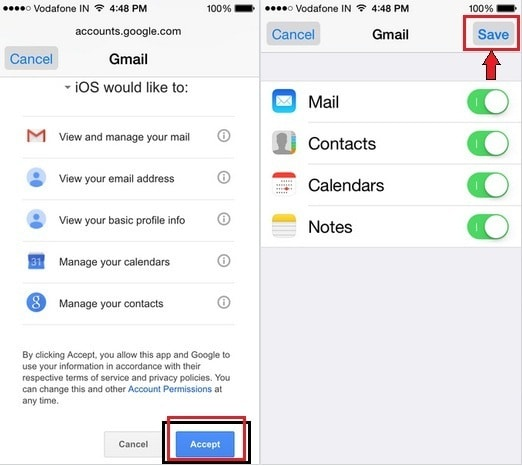 gmail sign in ios